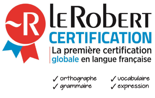 Certification Le Robert écrits pro
